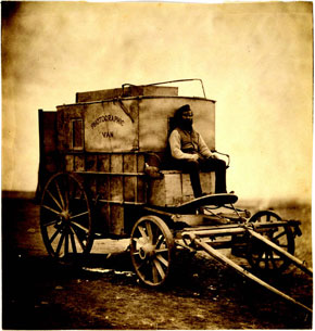 Roger Fenton's photographic wagon