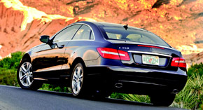 2010 Mercedes-Benz E550 Coupe