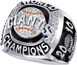 SF Giants Fan Ring