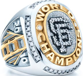 SF Giants Player's Ring