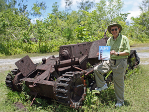 Bob F ALIVE Peleliu April 2013