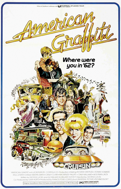 a representation of teen life in the movie american graffiti American graffiti (1973) before he embarked on star wars, george lucas directed this high school drama it's based on his own experiences growing up in modesto, california in the early '60s.