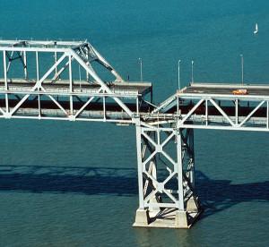 Bay Bridge - Loma Prieta (crop)