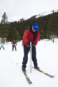 Snow Survey Helps Drought-Plagued California Determine Water Allocation