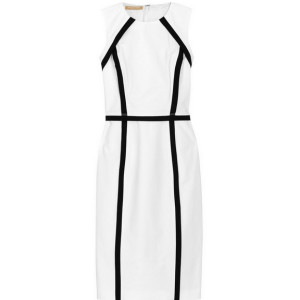 black and white dress- spring 2014
