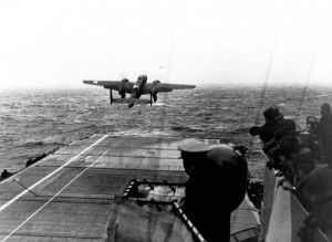 ALIVE - Hornet B-25 launch USAF92987  (crop)