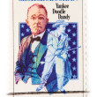 This is a Postage Stamp GeorgeCohan Yankee Doodle Dandy