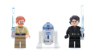 Lego Star Wars Anakin's Jedi Interceptor Minifigures