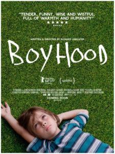 Alive media magazine Boyhood movie poster