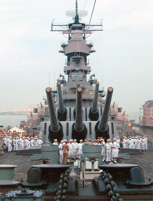 "USS Iowa – Farewell Salute to ""The Big Stick"""
