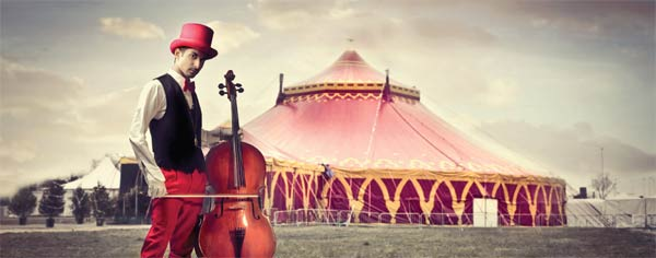 Circus Music Life is a circus and you have the choice to be the artist or the audience. circus music